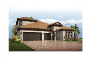Endeavor3ItalianVilla-700x460-2018-Opt5 Elevation - 2,500 - 3,108 sqft, 4 - 5 Bedroom, 3 - 4 Bathroom - Cardel Homes Tampa