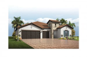 Endeavor3Tuscan-700x460-2018 Elevation - 2,500 - 3,108 sqft, 4 - 5 Bedroom, 3 - 4 Bathroom - Cardel Homes Tampa