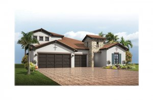 Endeavor3Tuscan-Opt5-700x460-2018 Elevation - 2,500 - 3,108 sqft, 4 - 5 Bedroom, 3 - 4 Bathroom - Cardel Homes Tampa