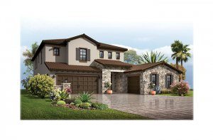 PalazzoTuscan-700x460-2018 Elevation - 3,730 - 3,788 sqft, 3 - 5 Bedroom, 3 - 4 Bathroom - Cardel Homes Tampa