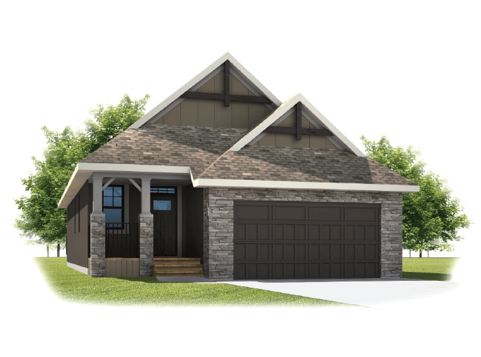 New home in ASPEN in Shawnee Park, 1,531 SQFT, 1 Bedroom, 1.5 Bath, Starting at 692,000 - Cardel Homes Calgary
