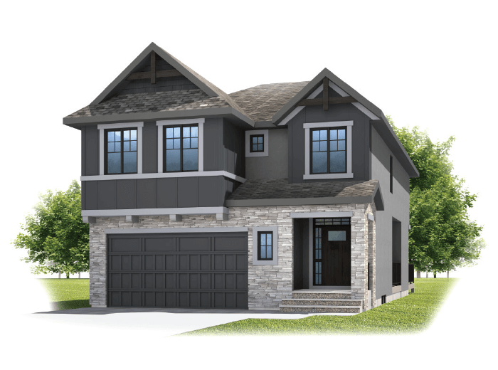 New home in SAVIN in Shawnee Park, 2,589 SQFT, 3 - 4 Bedroom, 2.5 Bath, Starting at 780'000 - Cardel Homes Calgary