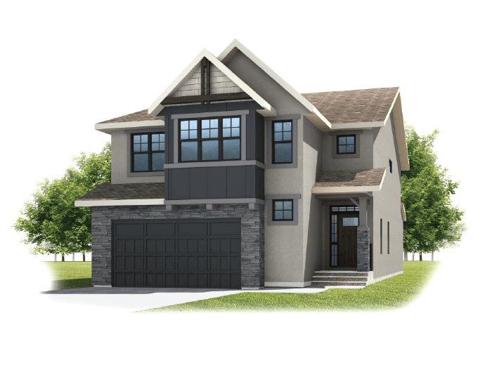 New home in SEQUOIA in Shawnee Park, 2,680 SQFT, 3 - 4 Bedroom, 2.5 Bath, Starting at 870,000 - Cardel Homes Calgary