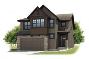 SEQUOIA-SP2016 - Rustic S2 Elevation - 2,680 sqft, 3 - 4 Bedroom, 2.5 Bathroom - Cardel Homes Calgary