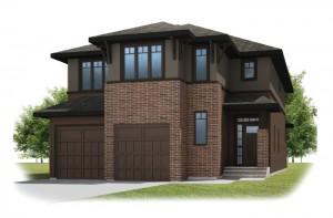 SEQUOIA-SP2016 - Prairie S3 Elevation - 2,680 sqft, 3 - 4 Bedroom, 2.5 Bathroom - Cardel Homes Calgary