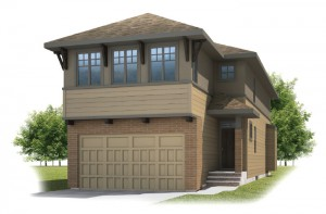 BARRET-SP2016 - Prairie S3 Elevation - 2,096 sqft, 3 Bedroom, 2.5 Bathroom - Cardel Homes Calgary