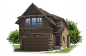 BARRET-SP2016 - Rustic S2 Elevation - 2,096 sqft, 3 Bedroom, 2.5 Bathroom - Cardel Homes Calgary