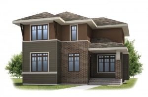 FAIRFIELD COURT-SP2016 - Prairie S3 Elevation - 2,351 sqft, 3 Bedroom, 2.5 Bathroom - Cardel Homes Calgary