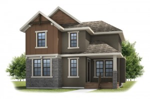 FAIRFIELD COURT-SP2016 - Rustic S2 Elevation - 2,351 sqft, 3 Bedroom, 2.5 Bathroom - Cardel Homes Calgary