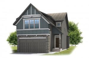 KENNEDY-SP2016 - Rustic S2 Elevation - 2,051 sqft, 3 Bedroom, 2.5 Bathroom - Cardel Homes Calgary