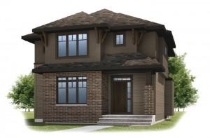 KENTON COURT-SP2016 - Prairie S3 Elevation - 2,456 sqft, 3 Bedroom, 2.5 Bathroom - Cardel Homes Calgary