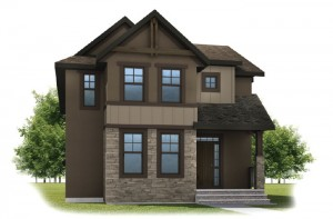 KENTON COURT-SP2016 - Rustic S2 Elevation - 2,456 sqft, 3 Bedroom, 2.5 Bathroom - Cardel Homes Calgary