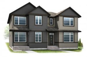 The INDIGO 2 - Urban Craftsman A4 Elevation - 1,534 sqft, 3 Bedroom, 2.5 Bathroom - Cardel Homes Calgary