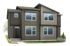 WP-COBALT 2 - Eichler F5 Elevation - 1,340 sqft, 3 Bedroom, 2.5 Bathroom - Cardel Homes Calgary