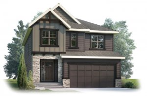SELKIRK1S2-1204 Elevation - 2,788 sqft, 4 Bedroom, 2.5 Bathroom - Cardel Homes Calgary