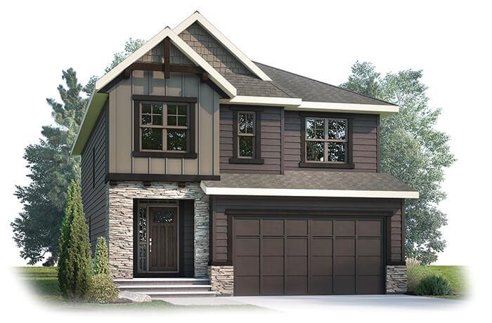 New home in SELKIRK 2 in Shawnee Park, 2,788 SQFT, 3 Bedroom, 2.5 Bath, Starting at 870,000 - Cardel Homes Calgary