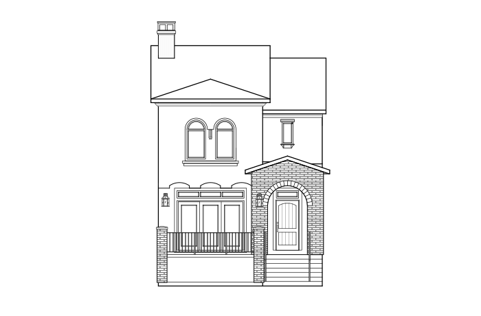 1458076625.94_Turin-C_Large Elevation - 1,688 sqft, 2 Bedroom, 2.5 Bathroom - Cardel Homes Denver