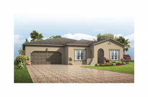Independence - Mediterranean Elevation - 2,000 sqft, 4 Bedroom, 2 Bathroom - Cardel Homes Tampa