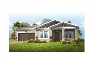 Valiant - Craftsman Elevation - 2,414 sqft, 4 Bedroom, 2 Bathroom - Cardel Homes Tampa