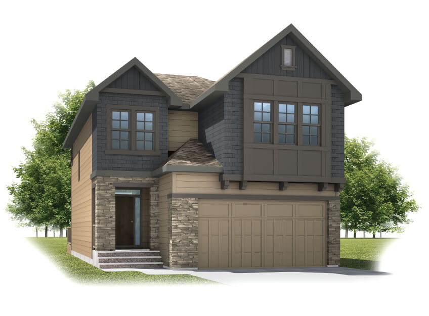 New home in SITKA in Shawnee Park, 2,234 SQFT, 3 Bedroom, 2.5 Bath, Starting at 705s - Cardel Homes Calgary