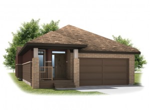Cypress - Cottage Prairie S3 Elevation - 2,293 sqft, 3 Bedroom, 3 Bathroom - Cardel Homes Calgary