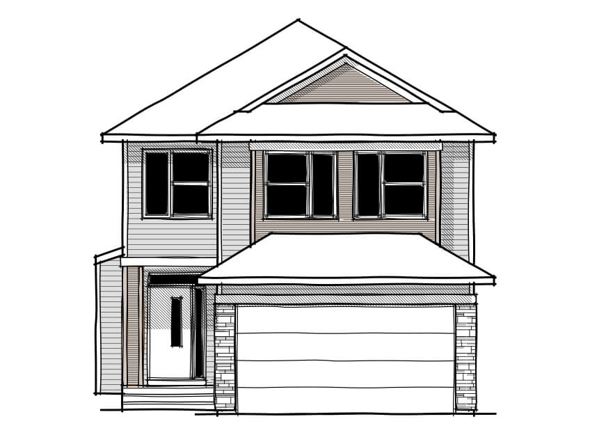 New home in SENNA in Savanna, 2,315 SQFT, 3 Bedroom, 2.5 Bath, Starting at 550,000 - Cardel Homes Calgary