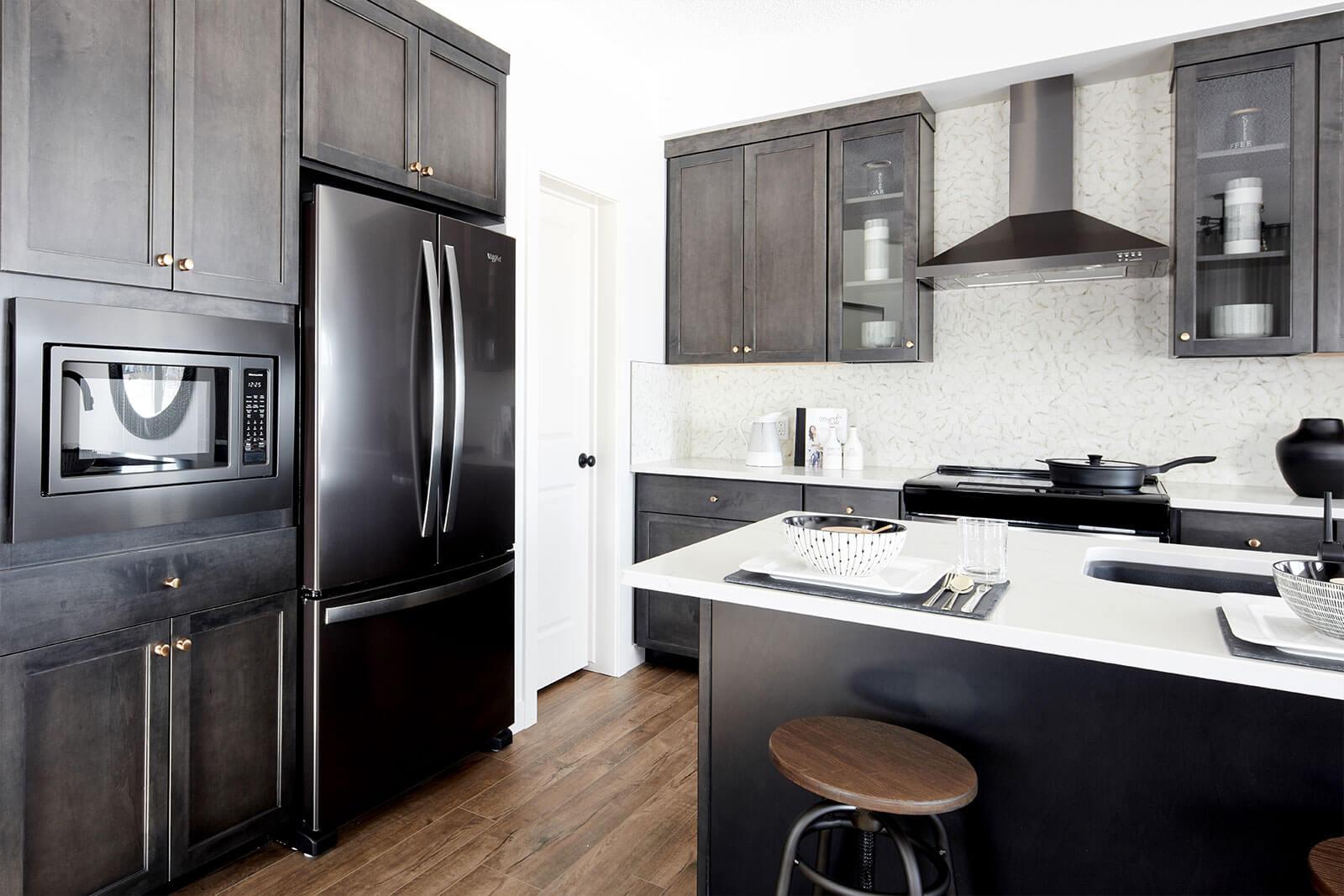New Calgary Single Family Home Rohan 1 in Shawnee Park, located at 6 Savanna Gardens NE Built By Cardel Homes Calgary