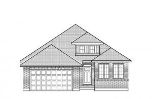 Bowland - A2 Traditional Elevation - 1,644 sqft, 2 Bedroom, 2 Bathroom - Cardel Homes Ottawa