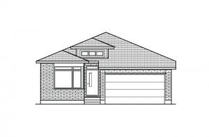 Cameron - A3 Modern Urban Elevation - 1,535 sqft, 2 Bedroom, 2 Bathroom - Cardel Homes Ottawa
