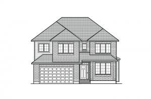 1471484964.89_Barrington_A2_700x460 Elevation - 2,531 sqft, 4 - 5 Bedroom, 2.5 Bathroom - Cardel Homes Ottawa
