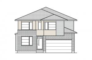 Durham - A3 Modern Urban Elevation - 2,294 sqft, 4 Bedroom, 2.5 Bathroom - Cardel Homes Ottawa