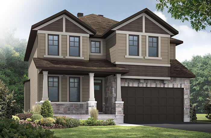 New home in DURHAM in Millers Crossing in Carleton Place, 2,294 SQFT, 4 Bedroom, 2.5 Bath, Starting at 528,000 - Cardel Homes Ottawa