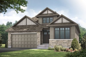 Decker - A1 Canadiana Elevation - 1,904 sqft, 2 Bedroom, 2 Bathroom - Cardel Homes Ottawa