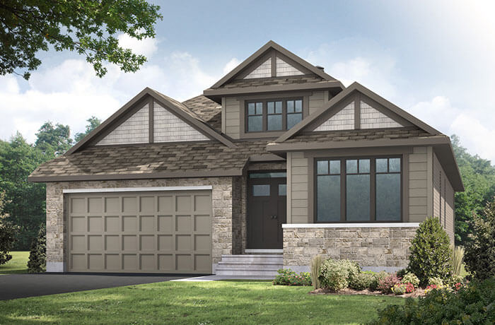 New home in DECKER in Millers Crossing in Carleton Place, 1,904 SQFT, 2 Bedroom, 2 Bath, Starting at 526,000 - Cardel Homes Ottawa