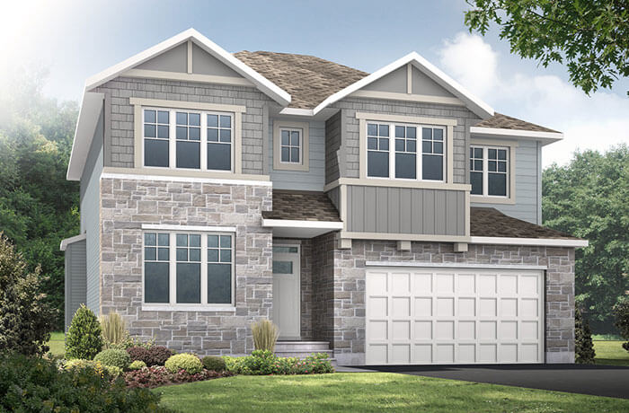 New home in LOCKHART in Millers Crossing in Carleton Place, 2,278 SQFT, 4 Bedroom, 2.5 Bath, Starting at 548,000 - Cardel Homes Ottawa