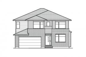 1496851812.64_Barrington_A3_700x460 Elevation - 2,531 sqft, 4 - 5 Bedroom, 2.5 Bathroom - Cardel Homes Ottawa