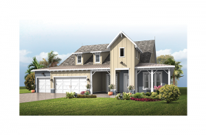 St. Lucia BEXLEY - Low Country Floridian Elevation - 3,336 sqft, 4 Bedroom, 3 Bathroom - Cardel Homes Tampa