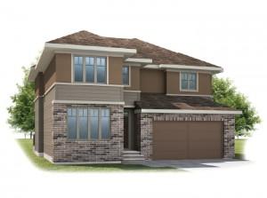 Harmon - Prairie S3 Elevation - 2,448 sqft, 3 Bedroom, 2.5 Bathroom - Cardel Homes Calgary