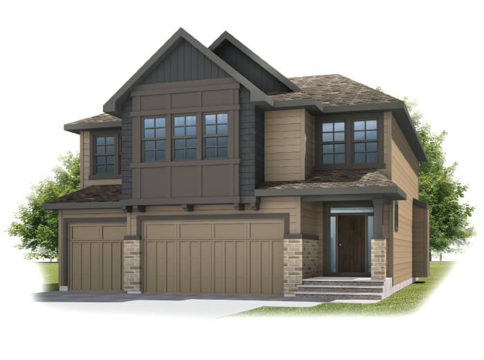 New home in PATAGON in Shawnee Park, 2,351 SQFT, 3 Bedroom, 2.5 Bath, Starting at 780,000 - Cardel Homes Calgary