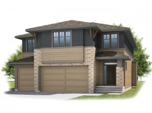 Patagon - Prairie S3 Elevation - 2,351 sqft, 3 Bedroom, 2.5 Bathroom - Cardel Homes Calgary