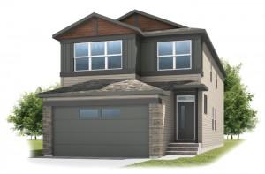 Sabal 2 - Urban Craftsman A1 Elevation - 2,313 sqft, 4 Bedroom, 2.5 Bathroom - Cardel Homes Calgary