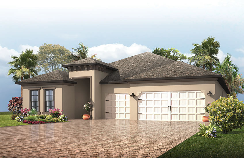 New Tampa Single Family Home Quick Possession Endeavor 3 in Waterset, located at 6538 Mayport Drive<br />