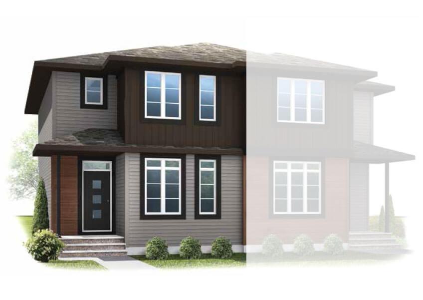 New Calgary Single Family Home Quick Possession Soho 2 in Savanna, located at 180 SAVANNA ROAD NE Built By Cardel Homes Calgary