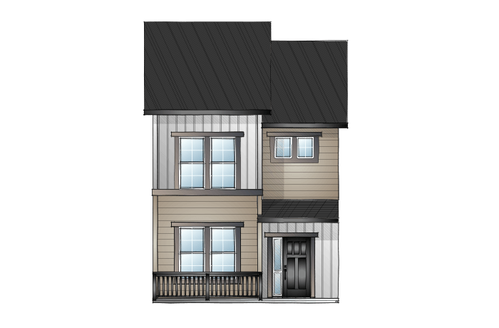 New home in SAGE in Lincoln Creek, 1,573 SQFT, 3 Bedroom, 2.5 Bath, Starting at 397,900 - Cardel Homes Denver