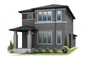 Teagan - Elevation B Elevation - 1,459 sqft, 2 Bedroom, 2.5 Bathroom - Cardel Homes Denver
