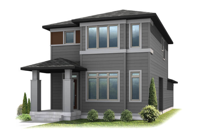 Teagan - Elevation B Elevation - 1,459 sqft, 2 Bedroom, 2.5 Bathroom - Cardel Homes Denver