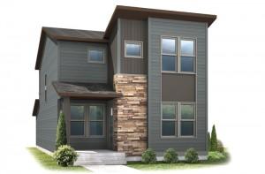 Voletta - Elevation C Elevation - 1,554 sqft, 2 Bedroom, 2.5 Bathroom - Cardel Homes Denver