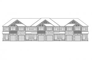 Meadow - Verbena - Elevation A Elevation - 2,023 sqft, 3 Bedroom, 2.5 Bathroom - Cardel Homes Ottawa