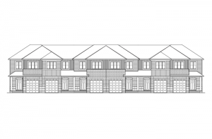 Forest - Balsa - Elevation A Elevation - 2,064 sqft, 3 Bedroom, 2.5 Bathroom - Cardel Homes Ottawa