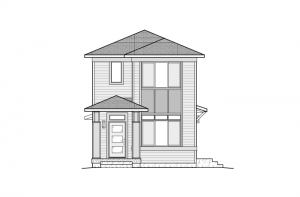 Colette - Elevation B - Fusion Prairie Elevation - 1,341 sqft, 2 Bedroom, 2.5 Bathroom - Cardel Homes Denver